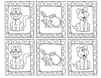 Pets Matching Game
