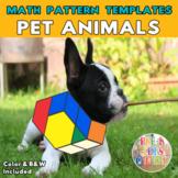 Pets    Printable Math Pattern Block Templates