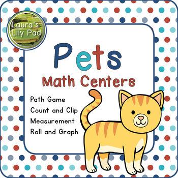 Pets Math Centers