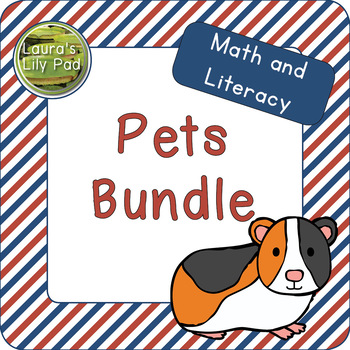 Pets Math and Literacy Bundle