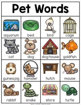 Pets Mini Writing Station