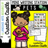Pets Mini Writing Station