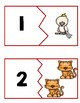 Pets Number Match Cards
