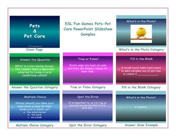 Pets-Pet Care PowerPoint Slideshow