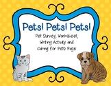 Pets! Pets! Pets! Activities