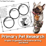 Animal Research Project | Pet Math Activities