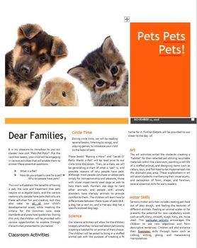 Pets Pets Pets! Unit