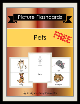 Pets Picture Flashcards