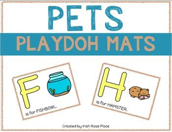 Pets Playdoh Mats