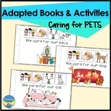 Pets Preschool Photo Activities | Adapted Books | Caring for Pets