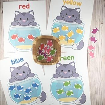 Pets Printable Math & Literacy Activities for Pre-K, Preschool, Kindergarten
