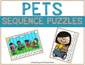 Pets Sequence Puzzles