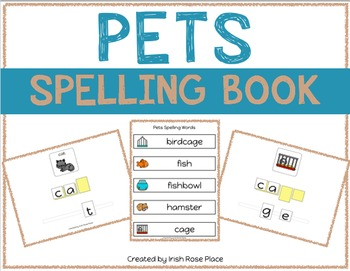 Pets Spelling Books (Adapted Book)