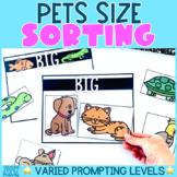 Pets Study | Size Sorting Activity | Preschool | Kindergarten