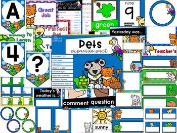 Pets Theme Decor {Expansion Pack}