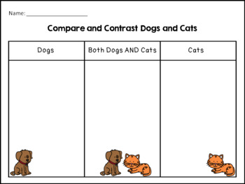 Pets Theme Packet