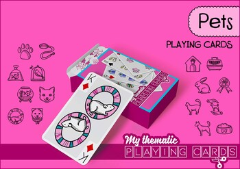 Pets Themed Playing Cards Deck
