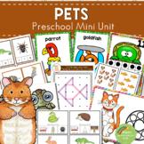 Pets Themed Preschool Kindergarten Mini Unit
