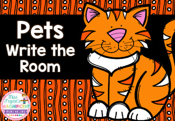 Pets Themed Write the Room *FREEBIE*