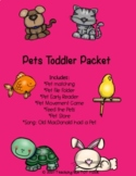 Pets Toddler Packet
