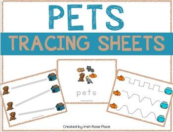 Pets Tracing Sheets
