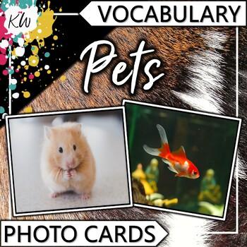 Pets Vocabulary Photo Flashcards