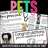 Pets Unit: What They Need and Who Takes Care of Them