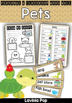 Pets Word Wall