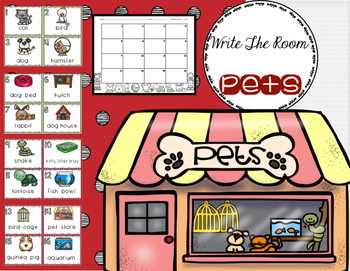 Pets: Write The Room