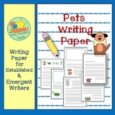 Pets Writing Paper