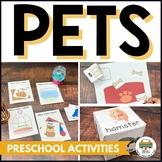Pets Preschool Activities and Centers