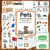 Pet Themed Preschool Activities and Centers
