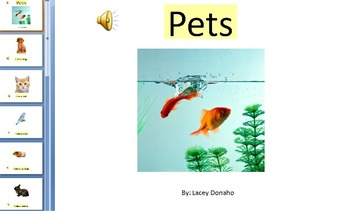 Pets adapted book