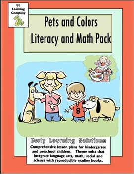Pets and Colors Litearcy and Math