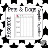 Pets and Dogs PebbleGo Graphic Organizers