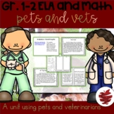 Pets and Vets: Animal and Veterinarian Activities for ELA