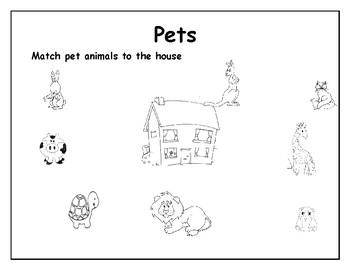 pets and farm animals by sandra antonia alvarado almaguer tpt. Black Bedroom Furniture Sets. Home Design Ideas