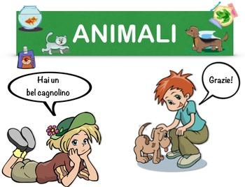 Pets in Italian