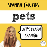 Pets in Spanish | Spanish Vocabulary