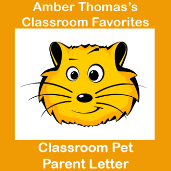 Pets in the Classroom Parent Letter
