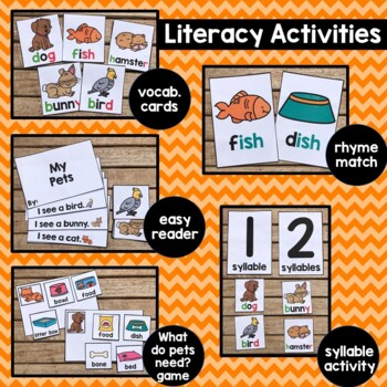 Pets theme for Preschool
