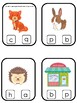 Pets themed Beginning Sounds Clip It Game.Printable Preschool Game