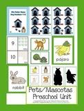 Pets/Mascotas Preschool  Unit
