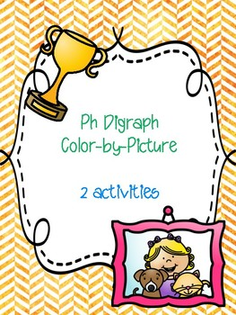 Ph Digraph Color-by-Picture