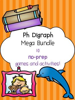 Ph Digraph Mega Bundle! [10 no-prep games and activities]