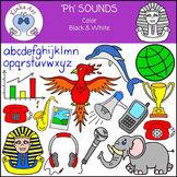 Ph Sounds (Blends Word) Clip Art