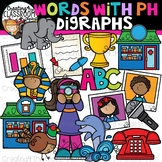 Ph- Words Beginning Digraphs Clipart {Digraphs Clipart}
