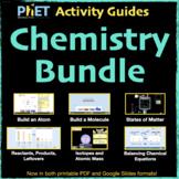 PhET Activity Guides Chemistry BUNDLE / Distance Learning