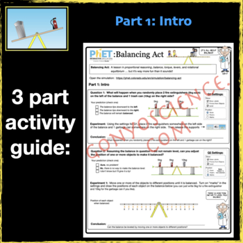 PhET: Balancing Act Activity Guide