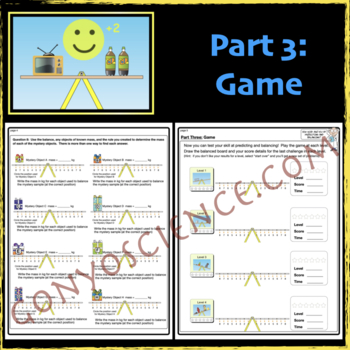 PhET: Balancing Act Activity Guide by James Gonyo | TpT